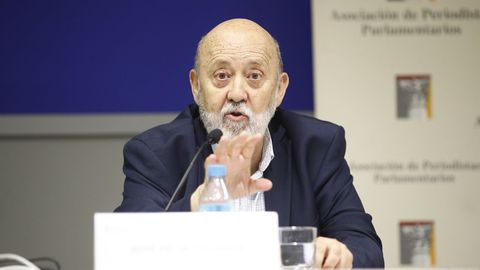 El presidente del CIS, Jose Félix Tezanos, en una imagen de archivo