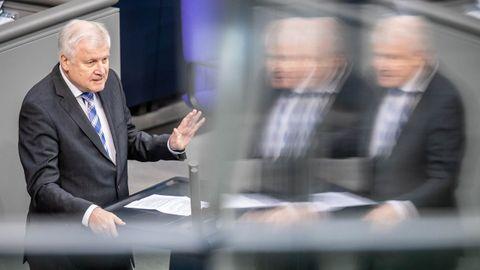 Hors Seehofer, ministro del Interior alemán