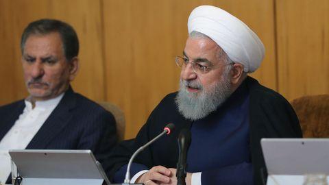 El líder supremo de Irán, Hasán Rohani