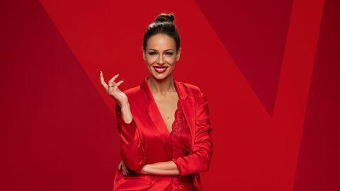 Eva González, presentadora de «La voz», en Antena 3