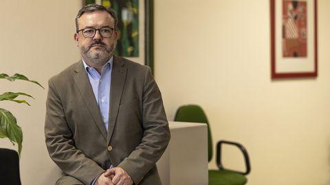 Alfredo García Quintana, concejal de Turismo de Oviedo