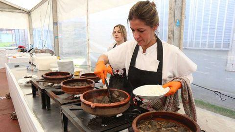 La lamprea seca es la degustación esencial de esta celebración