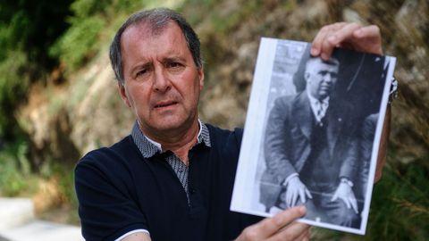 José Luis es nieto de Martín Ferreiro, asesinado en el campo de concentración de Gusen