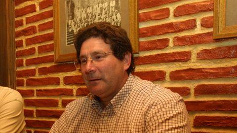 Roberto Álvarez, en una rueda de prensa en el 2005