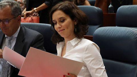 A Isabel Díaz Ayuso no le cuadran las cuentas de la Comunidad de Madrid
