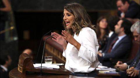 Yolanda Díaz será portavoz adjunta en la junta de portavoces y secretaria de Industria