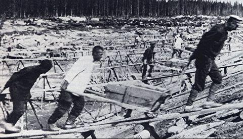 Los prisioneros gallegos trabajaban como esclavos en los campos de concentración soviéticos