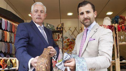 Oscar Varela (derecha) y Fernando Pombo, fundadores de Fio de Martié