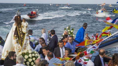 La procesión de las Festas do Mar de Malpica, ¡en imágenes!