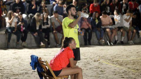 María y Bruno, finalistas de la categoría mixta