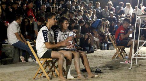 como el cuadrado  David López y Javier Loureiro, la pareja ganadora de la categoría masculina