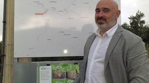 Alejandro Álvarez, concejal de Vox en Siero