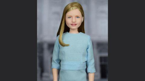 La muñeca de la princesa Leonor