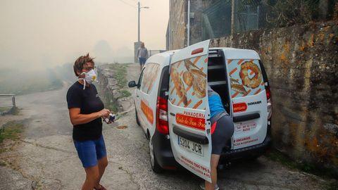 Barbanza registra siete incendios entre la madrugada y esta mañana