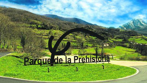 Entrada Parque de la Prehistoria de Teverga