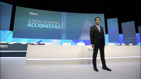 José María Álvarez-Pallete, presidente ejecutivo de Telefónica