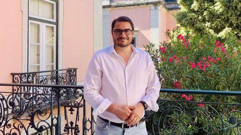 l abogado y jurista João Oliveira (Évora, 1979) es uno de los pesos pesados del PCP, dirigido por Jerónimo de Sousa