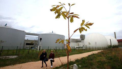 Depuradora del Lagares, que da servicio a Vigo y comarca