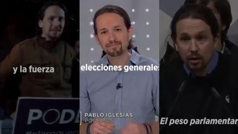 En el vídeo de Podemos no hay planos de Errejón ni del resto de los fundadores
