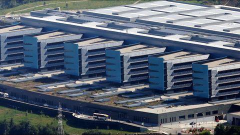 Imagen del complejo hospitalario vigués