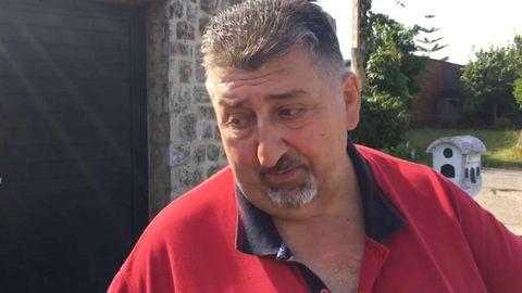 Carlos Sanjurjo, el vecino que recogió a los niños de Valga