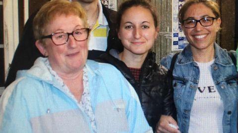 María Elena, Alba y Sandra, las tres víctimas del crimen  de violencia machista de Valga