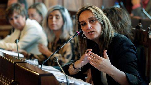 La consejera de Presidencia, Rita Camblor, ha mostrado su firme compromiso por el desarrollo de la Ley de Memoria Histórica en el Principado de Asturias