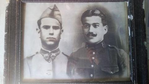 Nicolás Rodríguez, a la derecha, nació en Albarellos (Monterrei) y fue deportado a Gusen, donde falleció