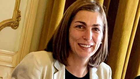 Ana Catarina Mendes fue clave en el pacto de la izquierda cerrado en el 2015 que permitió a Costa gobernar con el apoyo parlamentario del Bloco y los comunistas
