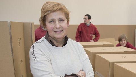 Dolores Fernández, directora de Aspaber, nunha fotografía de arquivo