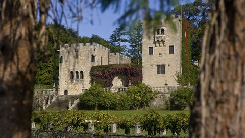 Imagen del pazo de Meirás, situado en el municipio coruñés de Sada