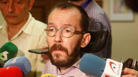 Pablo Echenique, portavoz de Unidas Podemos en el Congreso