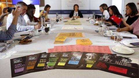 La directora de la Fundación Princesa de Asturias, Teresa Sanjurjo, presenta jueves el programa de actividades culturales de la Semana de los Premios Princesa de Asturias 2019