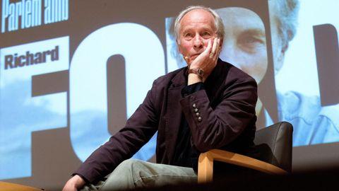 El narrador Richard Ford, hace unos días, en Barcelona, donde habló de su último libro, el volumen de cuentos «Lamento lo ocurrido»