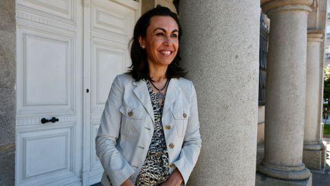 La alcaldesa de Marín, María Ramallo (PP)