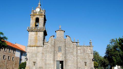Iglesia de Santa Mariña do Rosal