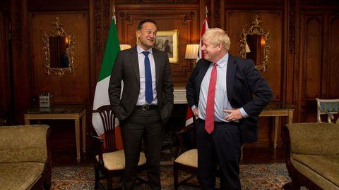 Los primeros ministros de Irlanda y el Reino Unido se reunieron este jueves en Cheshire