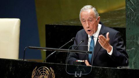 Marcelo Rebelo de Sousa, presidente de Portugal