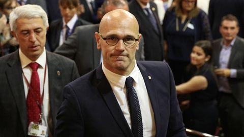 Raúl Romeva, exconsejero de Asuntos Exteriores, condenado a 12 años de prisión y 12 de inhabilitación absoluta por delito de sedición en concurso medial con un delito de malversación de fondos públicos agravado en razón de su cuantía