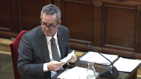 El exconsejero de Interior, Joaquim Forn, fue condenado a 10 años y 6 meses de prisión y 10 años y 6 meses de inhabilitación absoluta por un delito de sedición