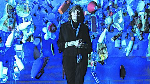 Uno de los actos celebrados en la pasada edición en Gijón: Sin azul no hay verde, con Sylvia Earle, en el IES Doña Jimena