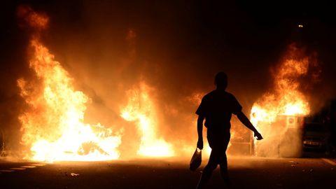 Nueva noche de altercados y enfrentamientos en Barcelona