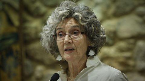 A escritora Marina Mayoral
