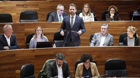 El diputado del PP, Álvaro Queipo