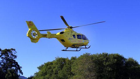 Imagen de archivo de un helicóptero del 061