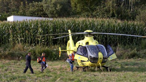 Helicóptero de Urgencias médicas