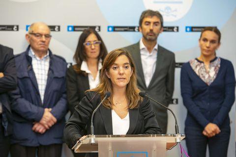La alcaldesa, Inés Rey