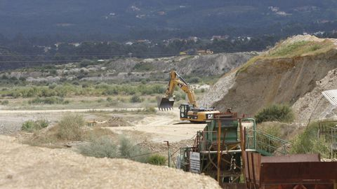 Obras en la plataforma logística industrial