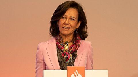 Ana Botín, presidenta del banco