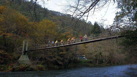 oitos dos máis importantes ríos galegos están hoxe acondicionados para dar agradables paseos a carón deles